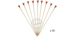 Cold Steel - Long bamboo darts cal .625 for Big Bore blowgun