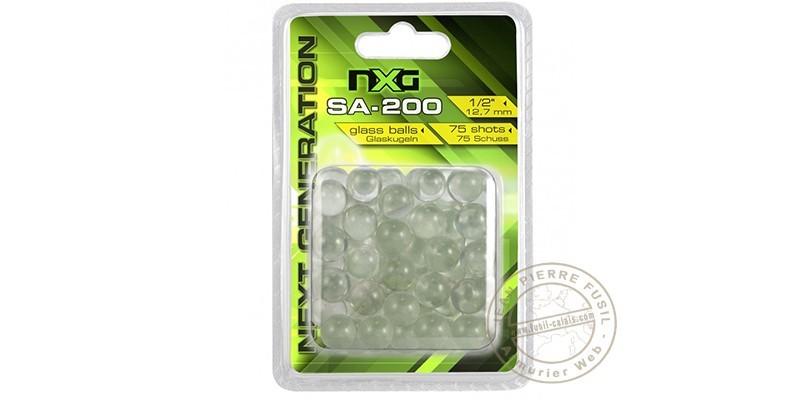 NXG - Glass balls for slingshot - x75