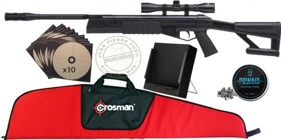CROSMAN TR77 NP Air Rifle pack- .177 rifle bore (19.9 joules) - SUMMER 2021 OFFER