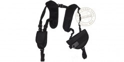 Shoulder holster and magazine pouch