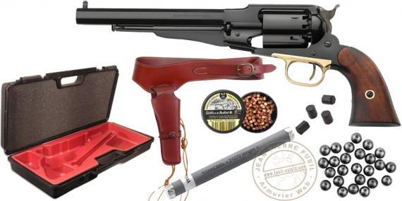 Kit Revolver PIETTA Remington 1858 Steel Cal. 44 - Barrel 8'' - PROMO SUMMER 2021