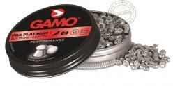 Plombs GAMO PBA Platinium 4,5mm 125
