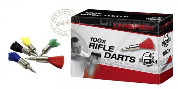 Fléchettes de tir pour carabine air comprimé 4,5mm / 100