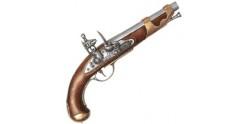 Inert replica of the french cavalry pistol 1800