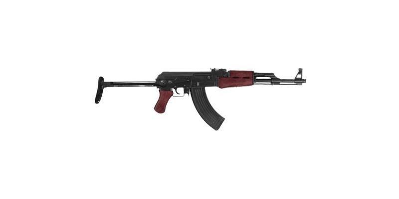 Inert replica of Kalashnikov AK-47 - Folding butt