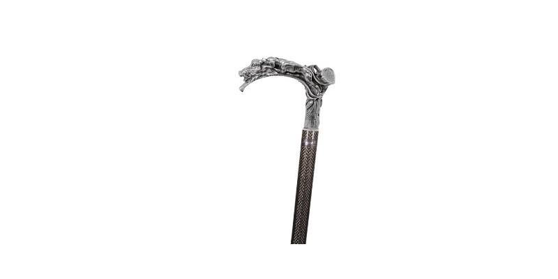 FAYET Swordstick - Dog and boar