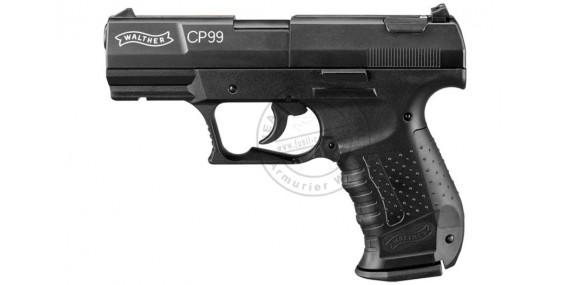 Pistolet à plomb CO2 4.5 mm WALTHER CP99 Noir (3 joules)