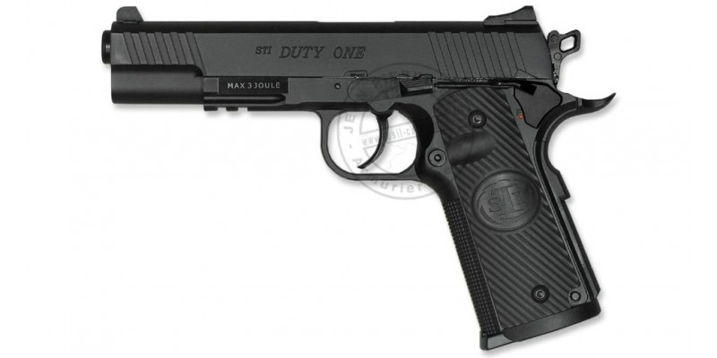 Pistolet 4,5 mm CO2 ASG STI Duty One (3 joules)