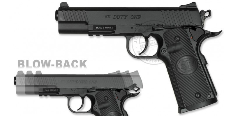 Pistolet 4,5 mm CO2 ASG STI Duty One - Blowback (3 joules)