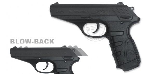 GAMO P-25 Blowback CO2 pistol - .177 rifle bore (3,98 joules)