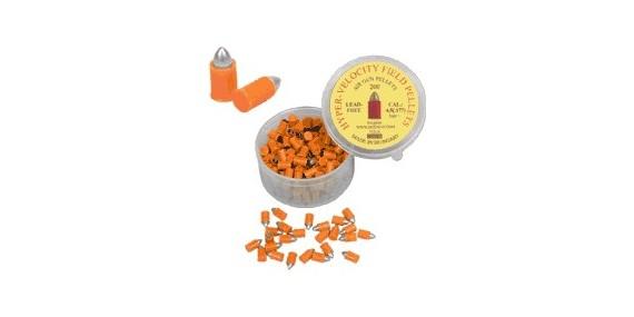 Balles métal ogivales (oranges) 4,5mm / 200