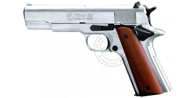 Pistolet alarme KIMAR 911 nickelé Cal. 9mm