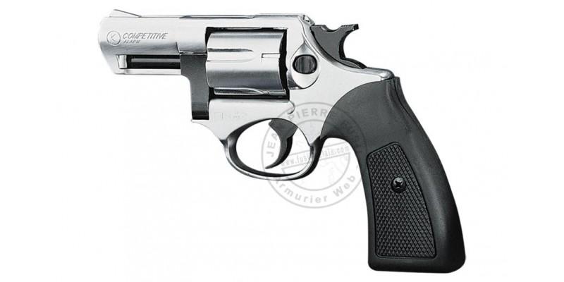 Revolver alarme KIMAR Kruger nickelé Cal 9 mm