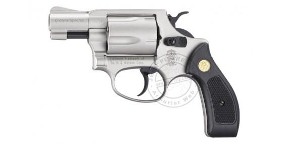 UMAREX SMITH & WESSON blank firing revolver - Nickel - 9mm blank bore