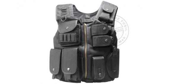Air Soft tactical jacket - ASG Strike Systems Swat - Black