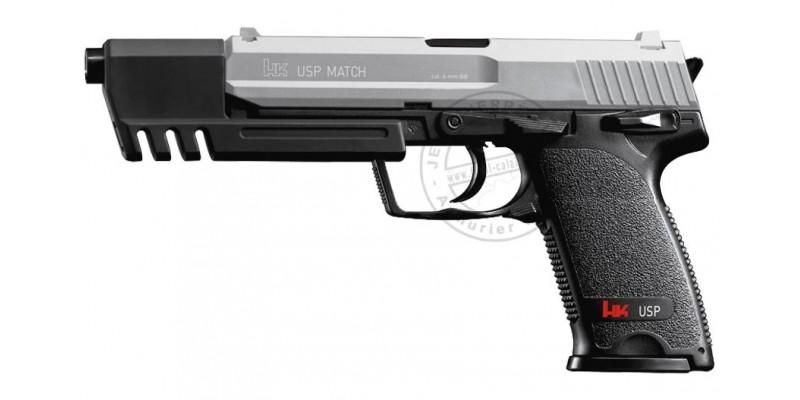 Pistolet Soft Air HECKLER & KOCH USP Match - Nickelé