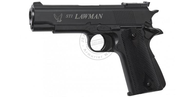 Pistolet Soft Air à gaz - ASG STI Lawman