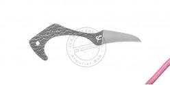 Poignard FRED PERRIN - Le Heron - Pink lanyard