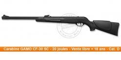 GAMO CF-30 SC airgun - .177 rifle bore (20 joules)