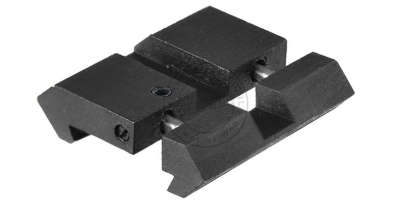 Mini rails de transformation en 21mm sur rail 11mm