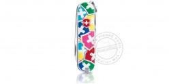 Couteau VICTORINOX - VX Colors - Classic 5p