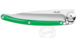 DEEJO COLORS 27g knife - Green