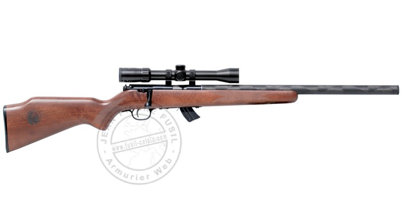 Pack carabine 22 Lr SAVAGE Stevens 300G Custom - Crosse Bois