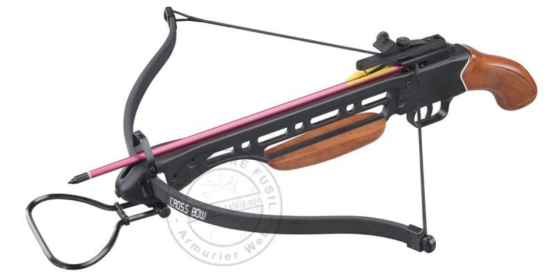 SHOOT AGAIN CF121 Wood Crosbow 150 lbs
