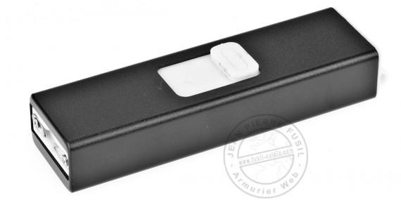 Electro Max PitiShock stun gun - 2 000 000 V USB rechargeable + flashlight