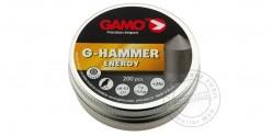 Plombs GAMO G-Hammer - 4,5mm - 2 x 200
