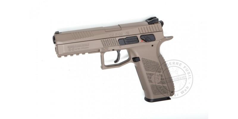 Pistolet à plomb CO2 4.5 mm ASG CZ P-09 FDE - Blowback - Désert (3.7 joules)