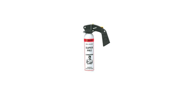 Bombe de défense 100 ml Gel Poivre Liquide