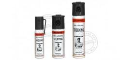 Lot de 3 bombes lacrymogènes Gel Poivre - PROMOTION