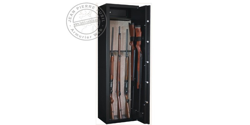 10 guns with scope cabinet safe + safe box - INFAC Sentinel