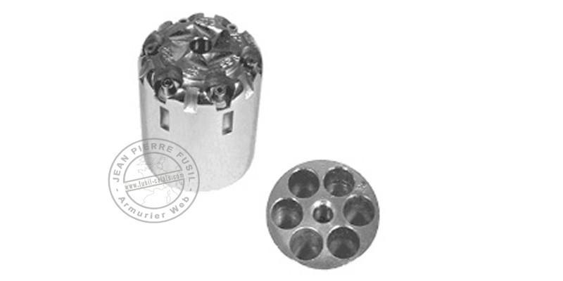 Barillet pour Remington PIETTA - Cal.44 Inox