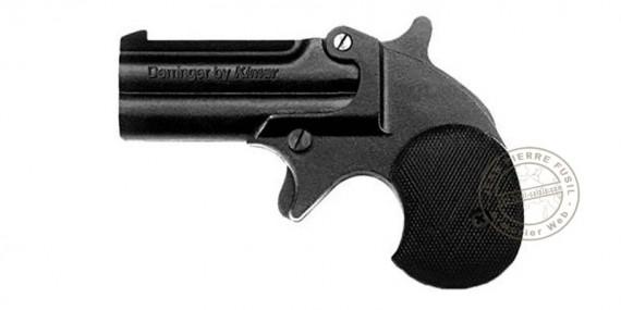 KIMAR Derringer blank firing pistol - Black - 6mm blank bore