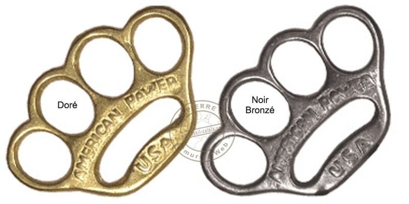 American Power Knuckle-duster - Golden