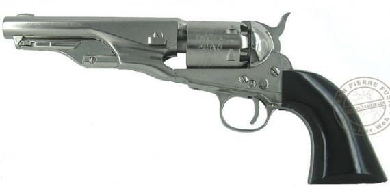 Revolver PIETTA Police Pony Express 1862 nickel Cal. 36 - Canon 5''