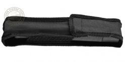 Matraque télescopique rigide noire - Nylon