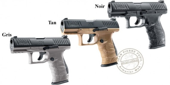 WALTHER PPQ M2 T4E CO2 rubber bullets pistol - Cal.43
