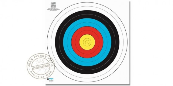 Reinforced paper targets - x10