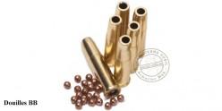 CROSMAN - Lot de 6 douilles pour revolver à plombs 4.5mm CO2 REMINGTON 1875