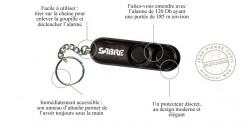 Sabre Red - Alarme personnelle porte clés - 120 Décibels