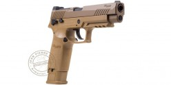 SIG SAUER ASP M17 Tan CO2 pistol .177 bore - Blowback (2.8 Joule)
