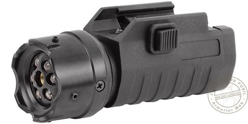 ASG - Lampe led tactique et pointeur laser