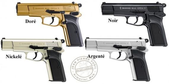 Umarex BROWNING GPDA blank firing pistol - 9mm blank bore