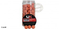 Umarex - Box of 100 rubber trainig balls orange