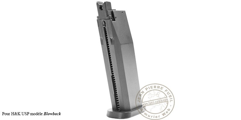 UMAREX - H&K USP Blowback CO2 pistol magazine - .177 BB bore