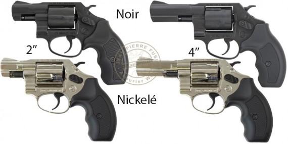 BRUNI NEW 380 blank firing revolver - 9mm blank bore